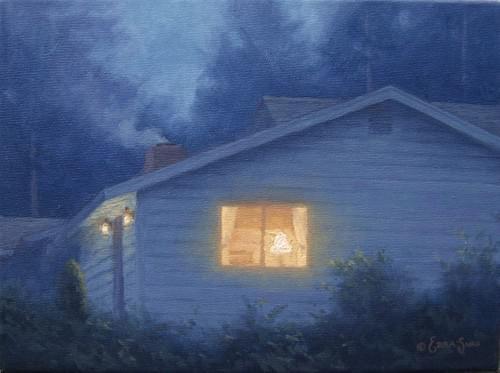 Evening Warmth (9x12)