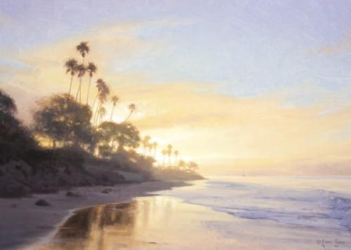 """Butterfly Beach - Lifting Fog"" Cards"
