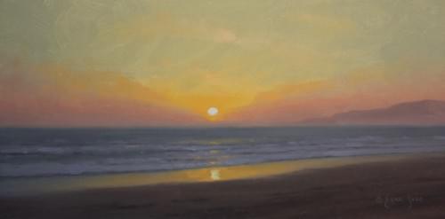 Malibu Setting Sun (8x16)