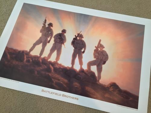 Battlefield Brothers Poster