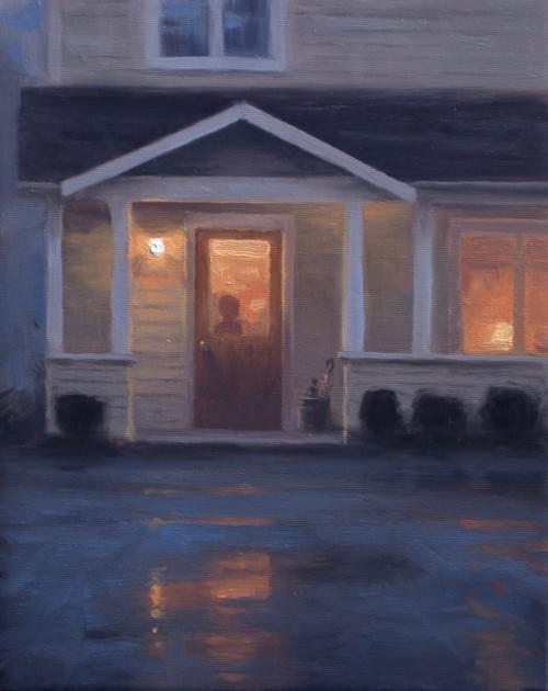 Rain, Rain, Go Away (10x8)