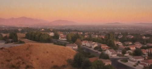 Last Light in the San Fernando Valley (22x48)