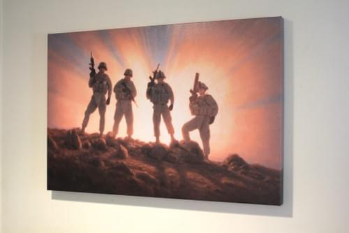 Battlefield Brothers Canvas