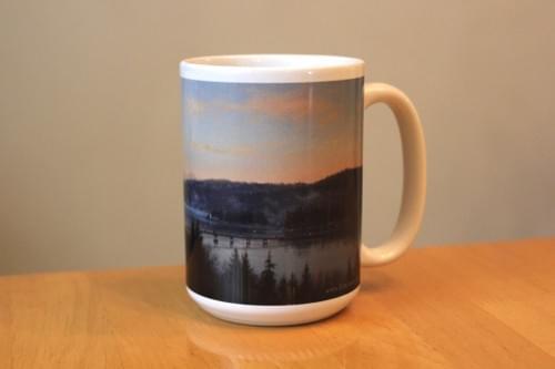 """Fox Island Sunrise"" Mug"