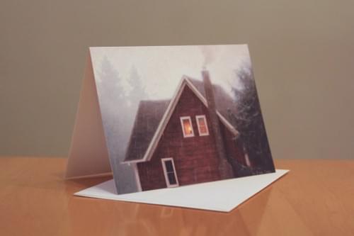 """""""Rainy Day Reading Light"""" Cards"""