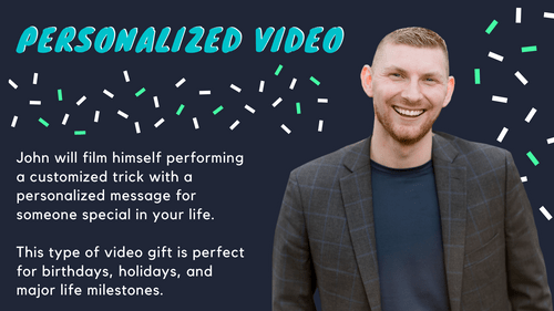 Personalized Video from John
