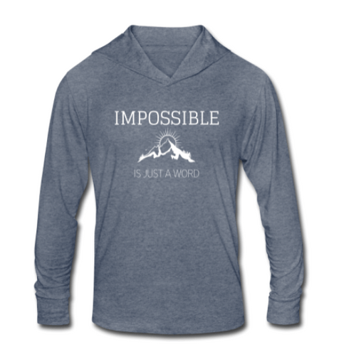 Impossible is Just a Word - Light Long Sleeve Shirt