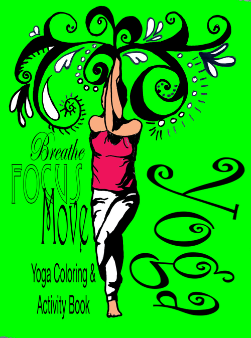 Yoga Coloring and Activity Book