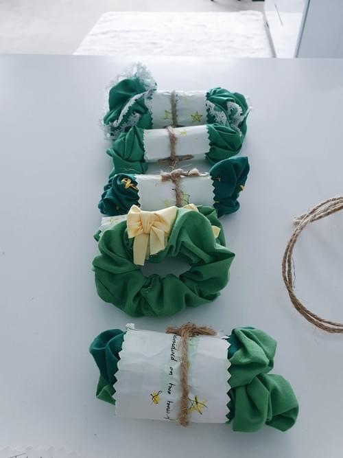 Hand-Sewn Scrunchie