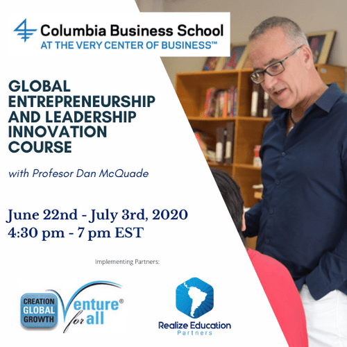 Global Entrepreneurship and Leadership Course (Online) (Ages 14-18)