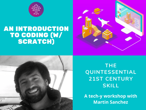 Introduction to Coding (w/Scratch) (Ages 9 - 13)