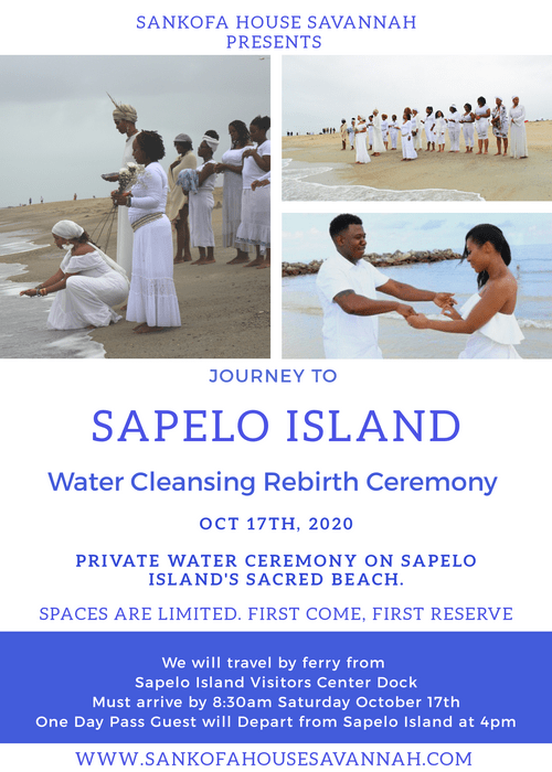 Sapelo Island Water Cleansing Rebirth