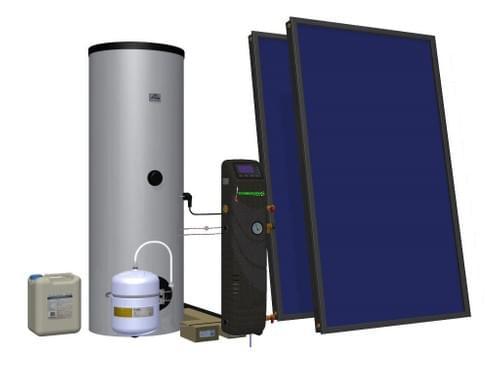 Sistema Solar Térmico 200 L (SST200L)