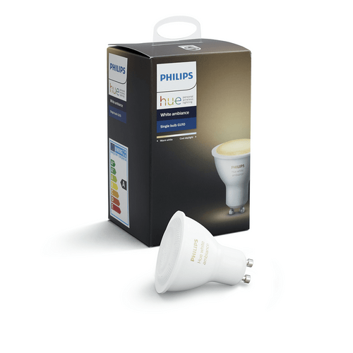 Philips Hue White Ambiance Single Bulb GU10