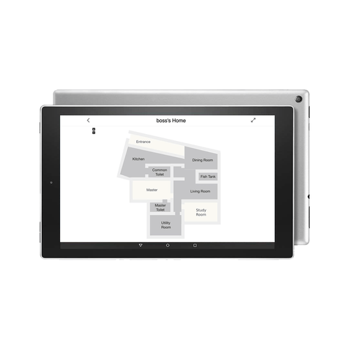 Wall-mounted Touch Display for Smart Floorplan (Built-in Alexa)