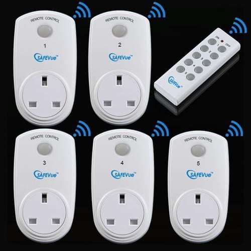 5 x SAFEVue Smart Plugs Bundle