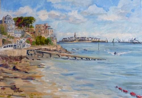 Dinard face à Saint Malo