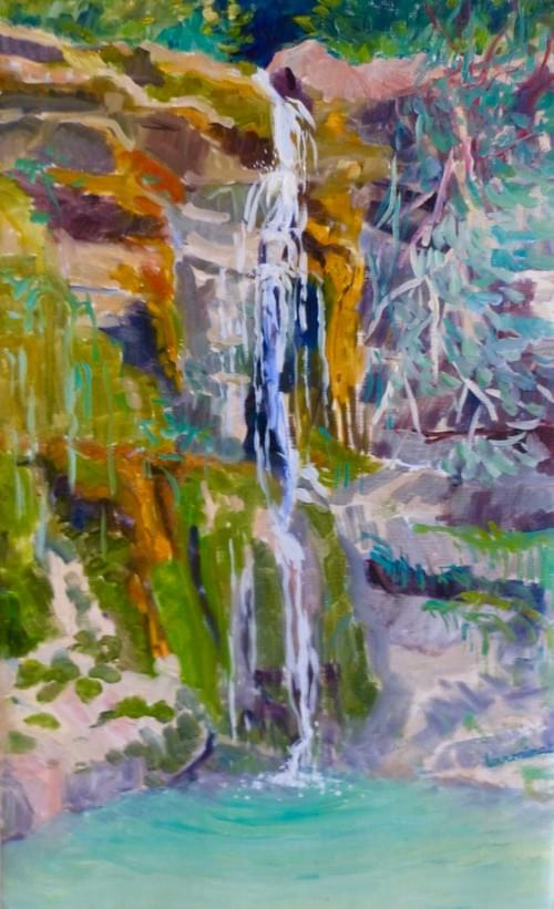 La cascade des Mathieux