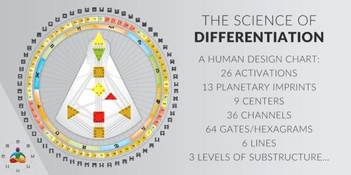 Human Design chart analysis