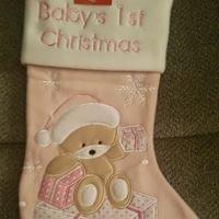 Christmas Babble 1st Christmas Stocking
