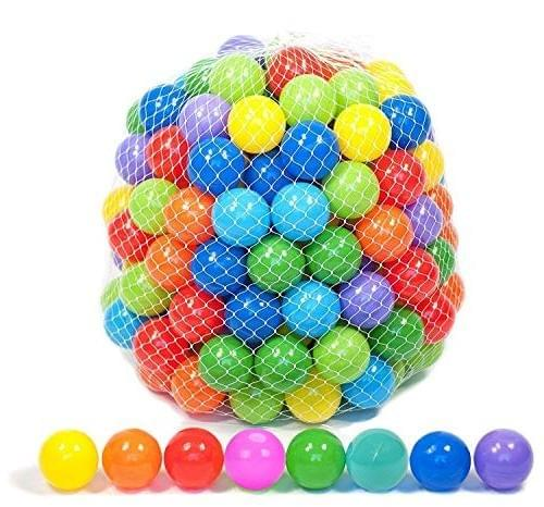 50 Soft Plastic Mini Play Balls