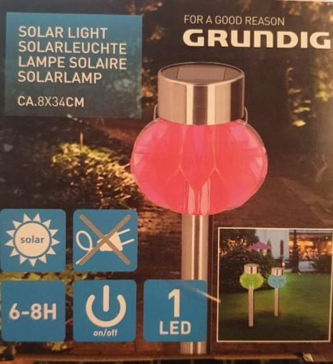 Grundig Solar Post Light