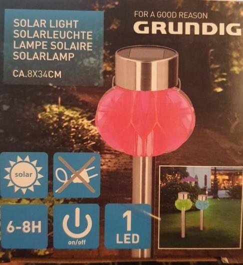 Grundig Solar Post Light