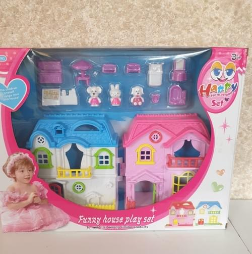 Dolls Playhouse with accessories