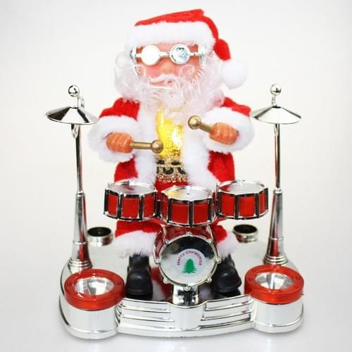 Santa On Reindeer Santa On Drums