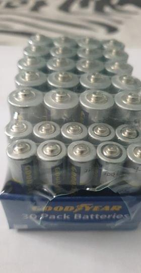 Good Year batteries 30 pack