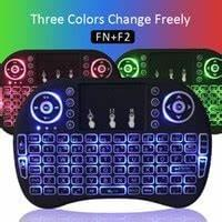 Rii i8 Keyboard Wireless Backlight Air Mouse Remote With Touchpad Handheld For TV BOX X96 TX3 mini