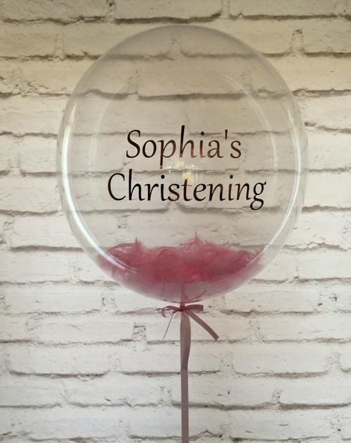 Personalized Bubble Balloons