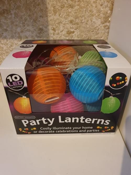 10 Lantern String Lights Indoor Lanterns