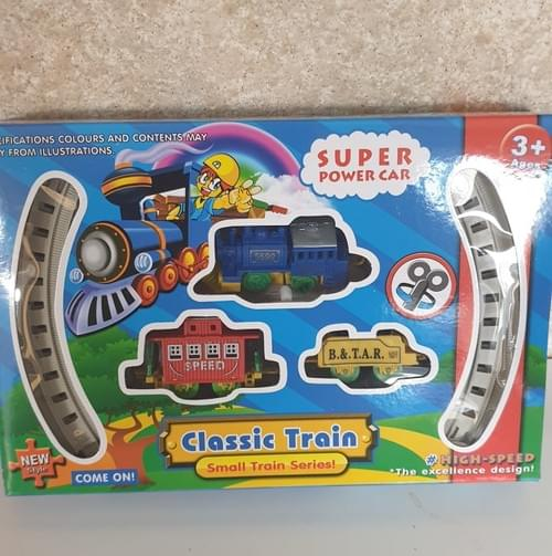 Small wind up kids mini train set