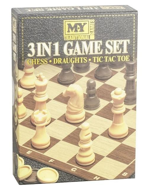 3 in 1 Game set