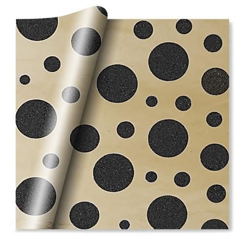 Flatwrap Spot Gold Foil & Glitter