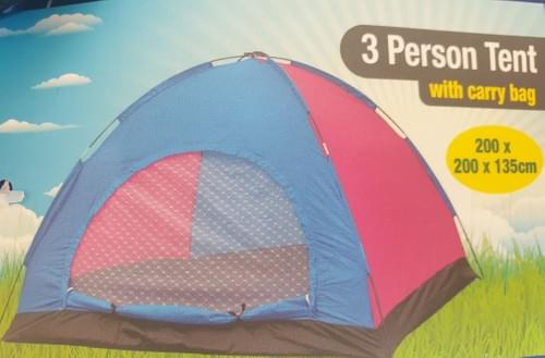 3 Person Summer Dome Tent