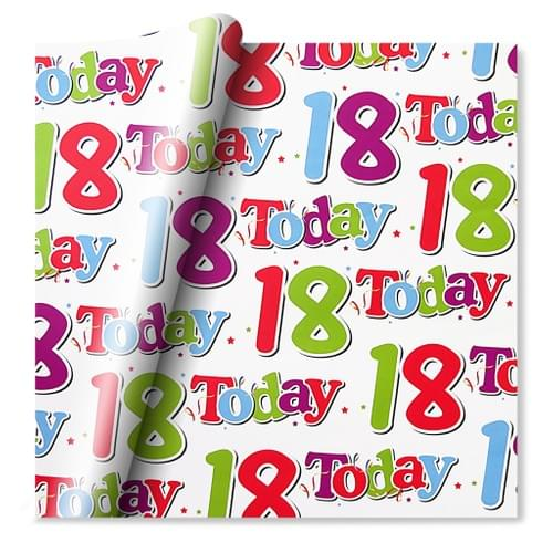 18th Wrapping Paper