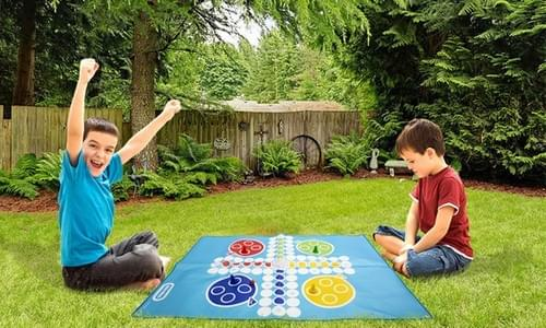 RMS Little Tike Giant Ludo Outdoor Garden Kids Toy Game Summer RMS Little Tikes Giant Draughts