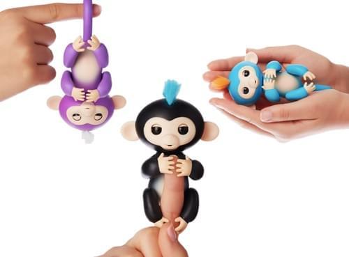 Happy Monkey Finger Toy