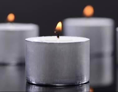 Celtic candles tealights 9 hr 50 pk