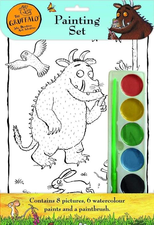 The Gruffalo Childrens Watercolour Pain