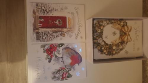 30 Pack Of Assorted Christmas cards