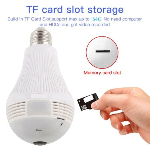Wifi Smart Camera light Bulb 1080p