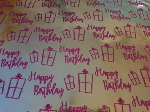 Happy BirthdayGift Wrap
