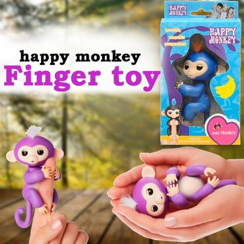 Happy Monkey Finger Toy