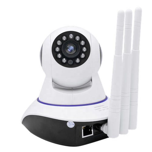 3 Antennas Mini WiFi IP Camera HD 1080P Home Security Camera P2P Two Way Audio IR Night Vision Wirel