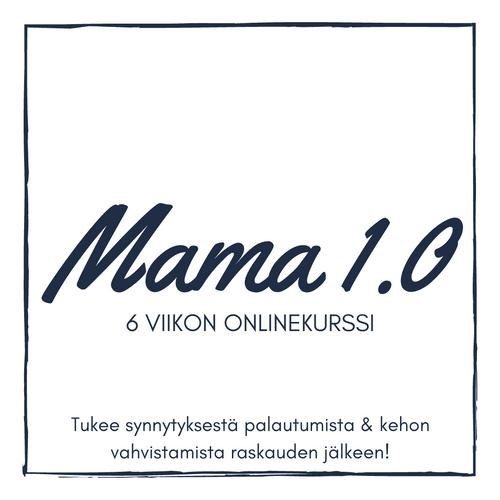 6 viikon verkkovalmennus Mama 1.0