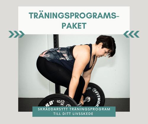 Träningsprogramspaket & fortsättningsprogram KARLEBY/ONLINE