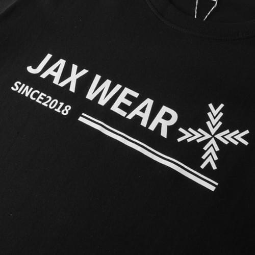 JAX WEAR signature T-shirt 黑